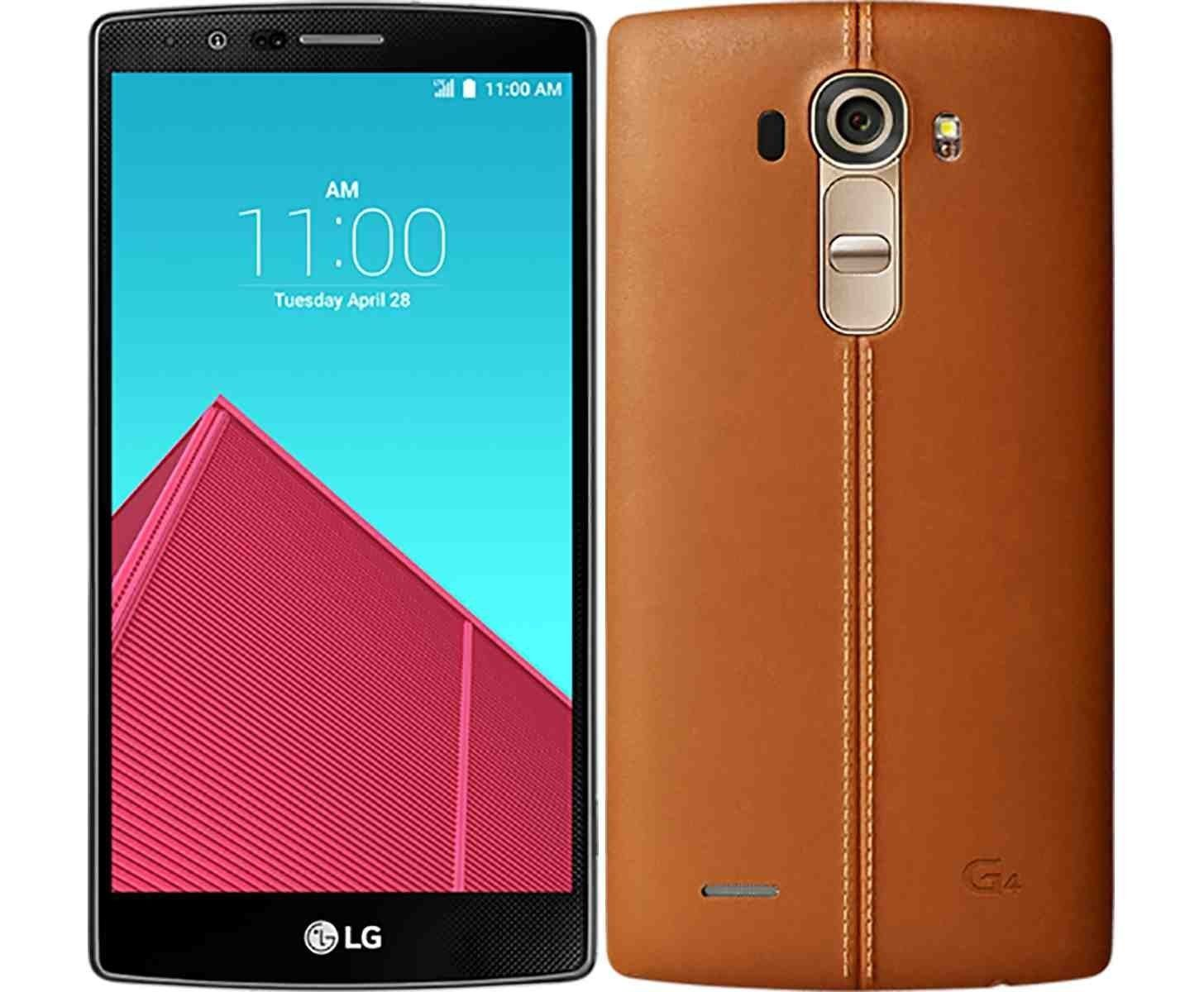 Telefono Celular Used (Good Condition) LG G4 H811 32GB Unlocked GSM T-Mobile 4G LTE Android Smartphone (Brown) + LG en VeoyCompro.net