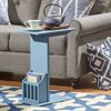 Chelsea Lane Hagar Magazine Rack Accent Table, Multiple Colors