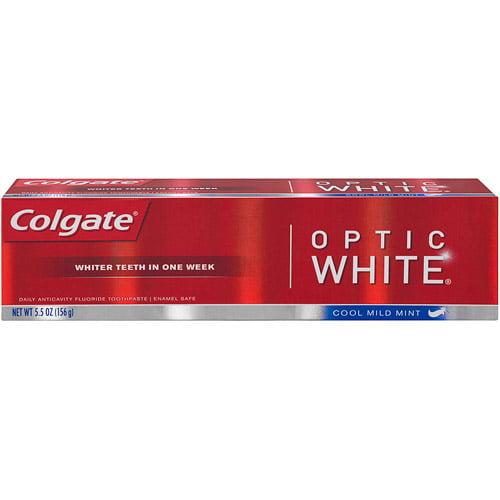 Colgate Optic White Cool Mild Mint Toothpaste, 5.5 oz