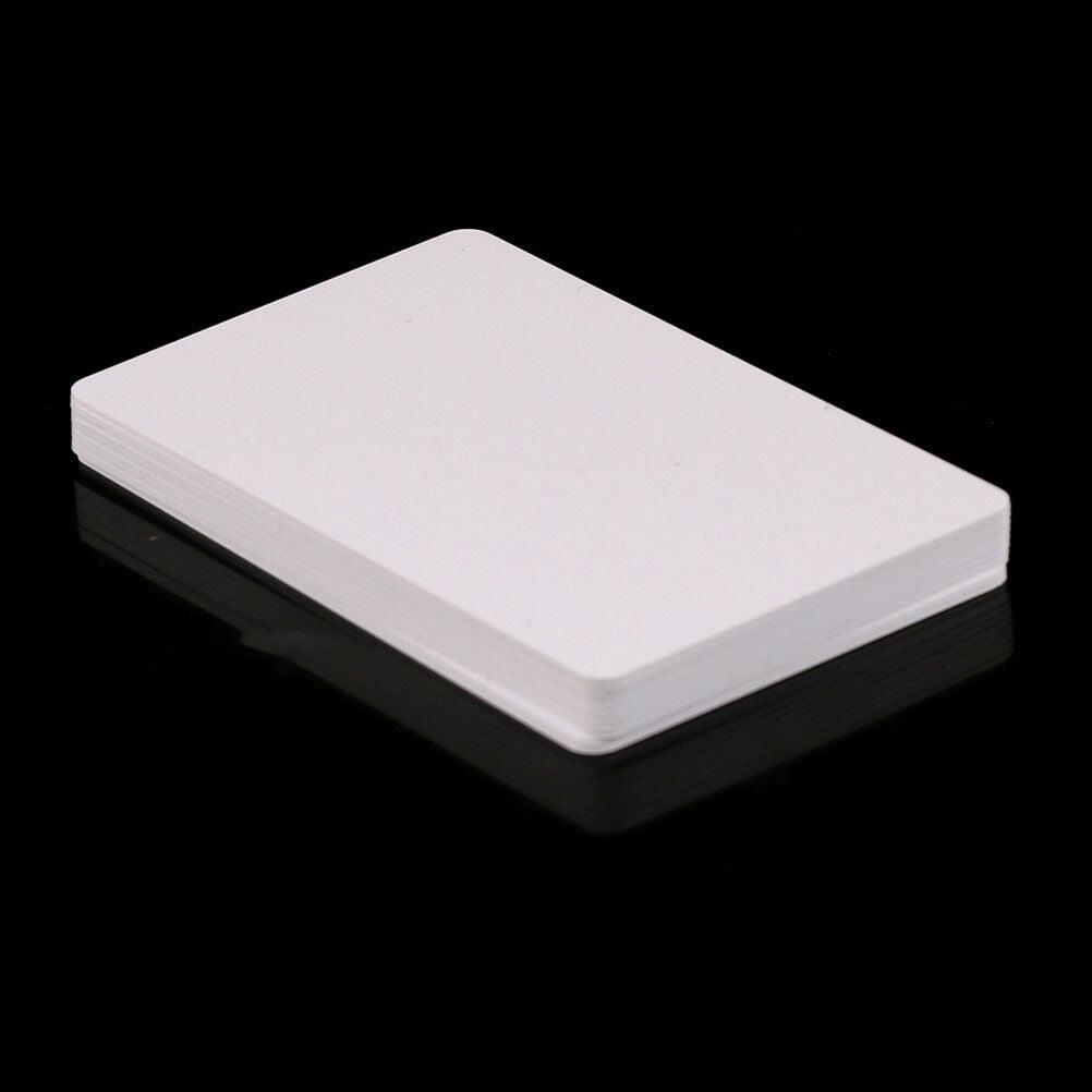 10pcs PVC Blank NFC Card Tag 1k S50 IC 13.56MHz Read Write RFI HI