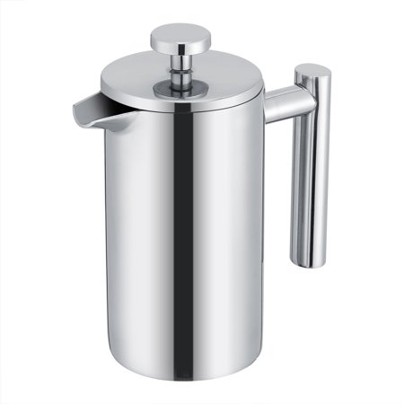 Ejoyous 350ML Double Wall Stainless Steel Coffee Maker French Press Tea Pot with Filter ,French Press, French Press Maker - image 4 of 7