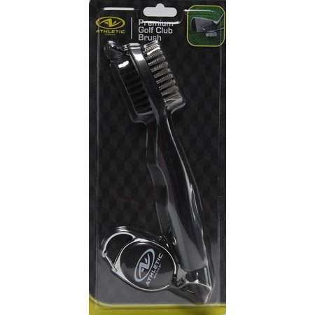Golf Club Cleaning Brush (Golf Cleaning Brush with Cord for Hanging on Bag)