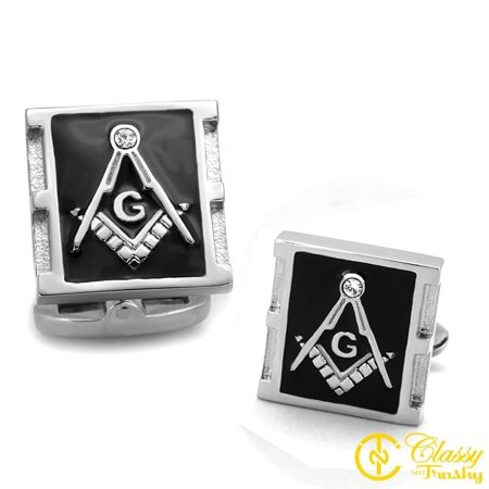 Classy Not Trashy® Men's Stainless Steel Crystal