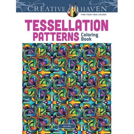 Creative Haven Coloring Books: Tessellation Patterns (Paperback) - Halloween Tessellations
