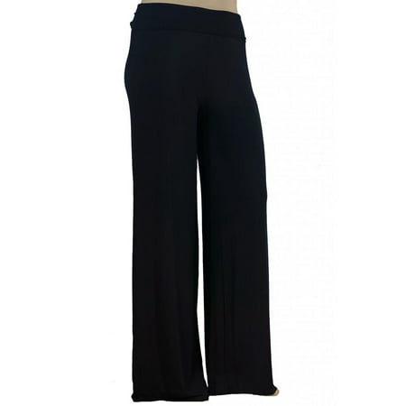 Women's Plus Size Premium Modal Softest Ever Stretchy Pants Palazzo Pants Yoga Pants Made in USA with Imported Fabric](Parachute Pants In The 80s)