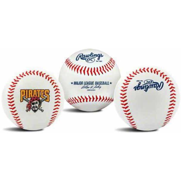 MLB Pittsburgh Pirates Team Logo Baseball
