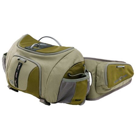 William joseph surge fly fishing lumbar chest or fanny for Fishing waist pack
