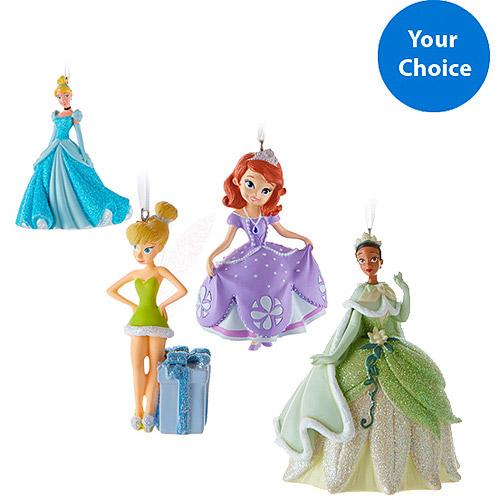 you pick 2 hallmark disney princess holiday ornament value bundle walmartcom