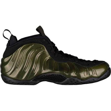 Kids Nike Little Posite One GS Legion Green Black 644791-301