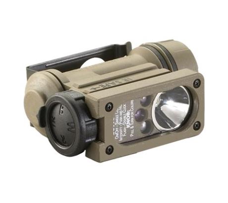 Streamlight Sidewinder Compact II Military Model Flashlight w White,Red,Blue,IR by Streamlight