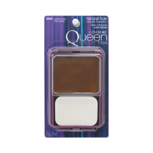 CoverGirl Queen Collection Natural Hue Compact Foundation - GoldenHoney (525)