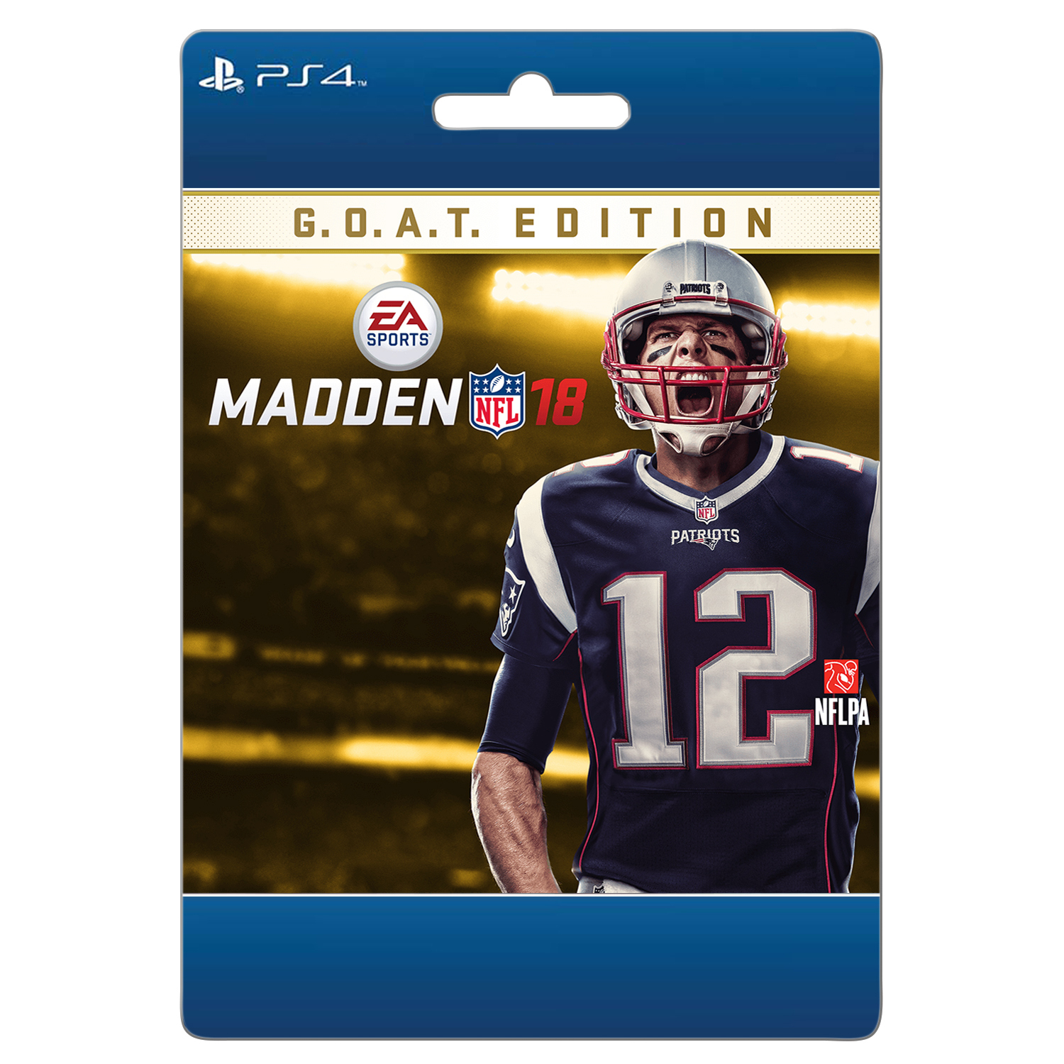 Sony Madden NFL 18 GOAT Edition (email delivery)