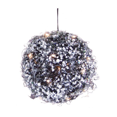 Fantastic Craft Berry Twig Ball Christmas Ornament with Light