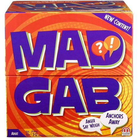 Mad Gab Game- It's Not What You Say, It's What You Hear!