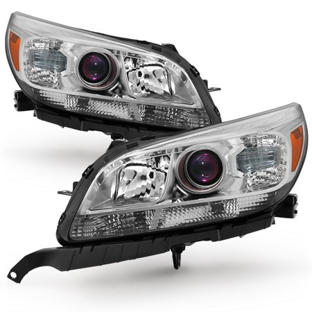 - Fit 2013 2014 2015 Chevrolet Malibu LS LT LTZ Projector Headlights Replacement
