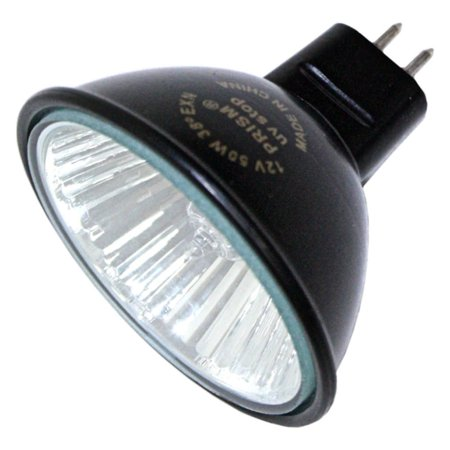 - MR16EXN/BLK/L Prism T8U2FR12/850/Dir/LED 107356 50W MR16 Blkbk FL 12V GU5.3 PR, Compact light source, white light, greatly reduces fading caused by UV.., By Halco Lighting Technologies