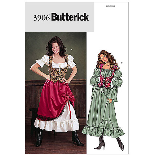 Butterick Misses' and Misses' Petite Costume, (18, 20, 22)