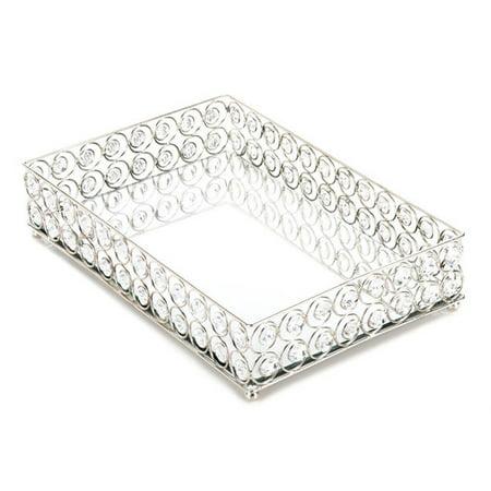 Zingz   Thingz Shimmer Rectangular Accessory Tray