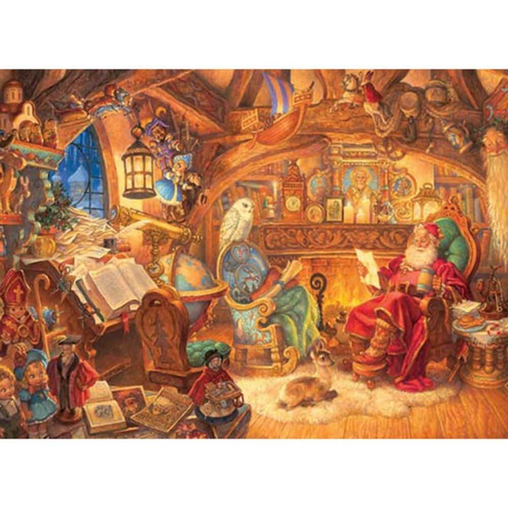 Outset Media 1000 Piece Father Christmas Puzzle