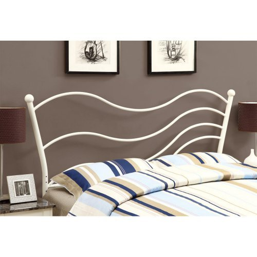 Bed, Queen or Full Size/White Headboard or Footboard