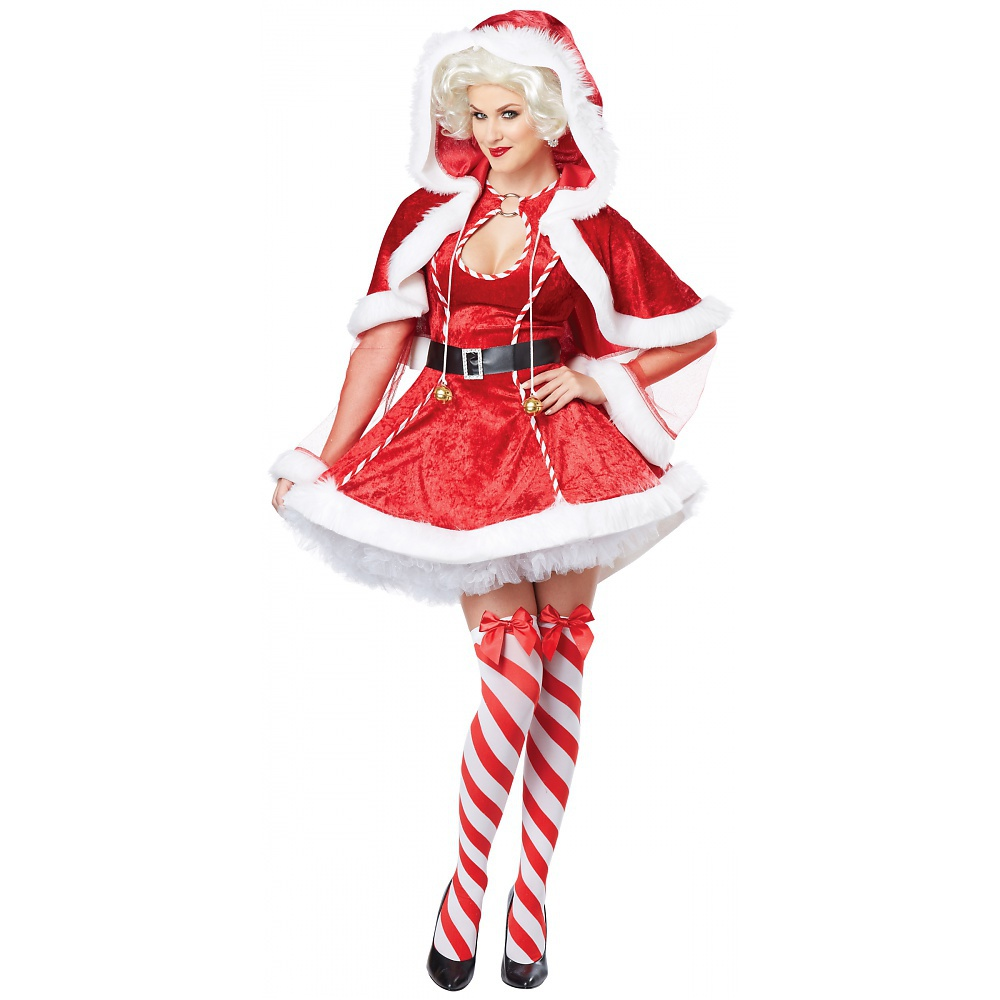 Sexy Mrs Claus Adult Costume - X-Large