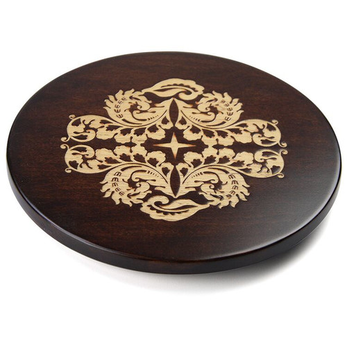 Martins Homewares Artisan Woods Fern Leaf Trivet
