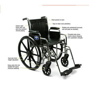 Medline's Durable Wheelchair