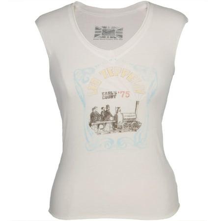 Led Zeppelin - Court Juniors Sleeveless T-Shirt