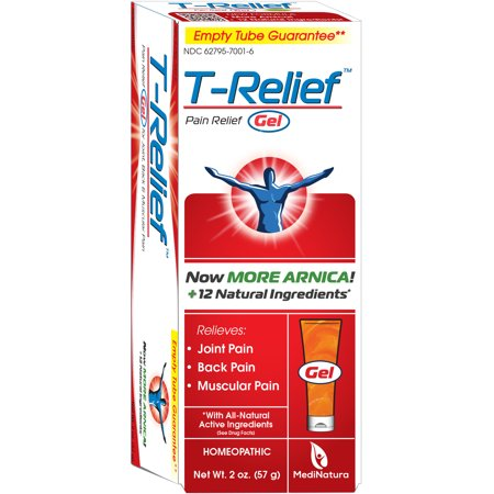 T-Relief Joint, Muscle & Back Pain Relief Gel, 2 oz - Halloween T Pain