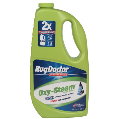 Rug Doctor Oxy Steam Carpet Cleaner 64 Fl Oz Walmartcom