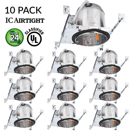 10 pack 6 new construction led can air tight ic housing led 10 pack 6 new construction led can air tight ic housing led recessed lighting aloadofball