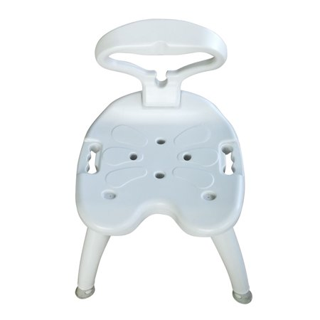 Zimtown 440 Lb Medical Elderly Bathtub Bath Tub Shower Seat Chair Bench Stool With Back Support