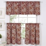 Elrene Home Fashions Flora 60'' Curtain Valance
