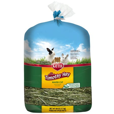 Kaytee Wafer Cut Timothy Hay, 60 oz