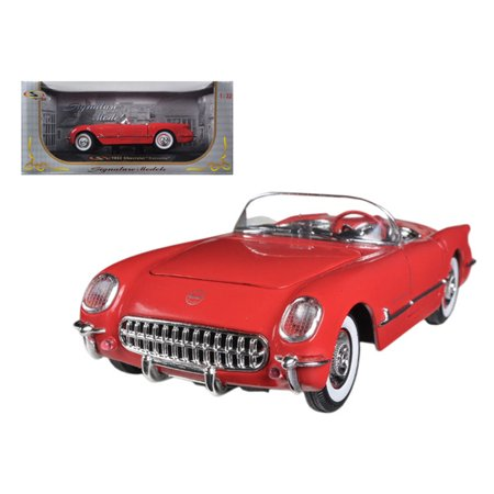 1953 Chevrolet Corvette Red 1/32 Diecast Car Model by Signature (Signature Model Cars)