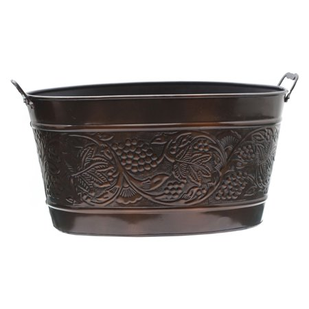 "5½ Gallon Antique Embossed ""Heritage"" Party Tub"