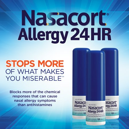 Nasacort Allergy 24HR 360 Spray -
