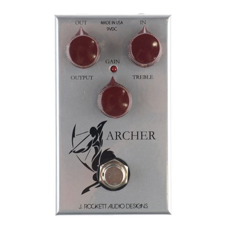 Rockett Pedals Archer Boost Overdrive Guitar Effects