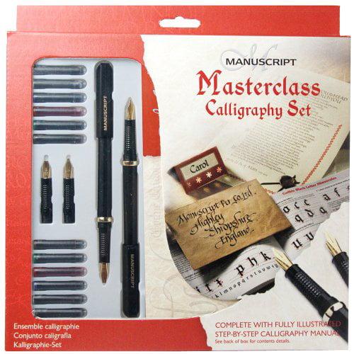 Manuscript Masterclass Calligraphy Set Multi-Colored