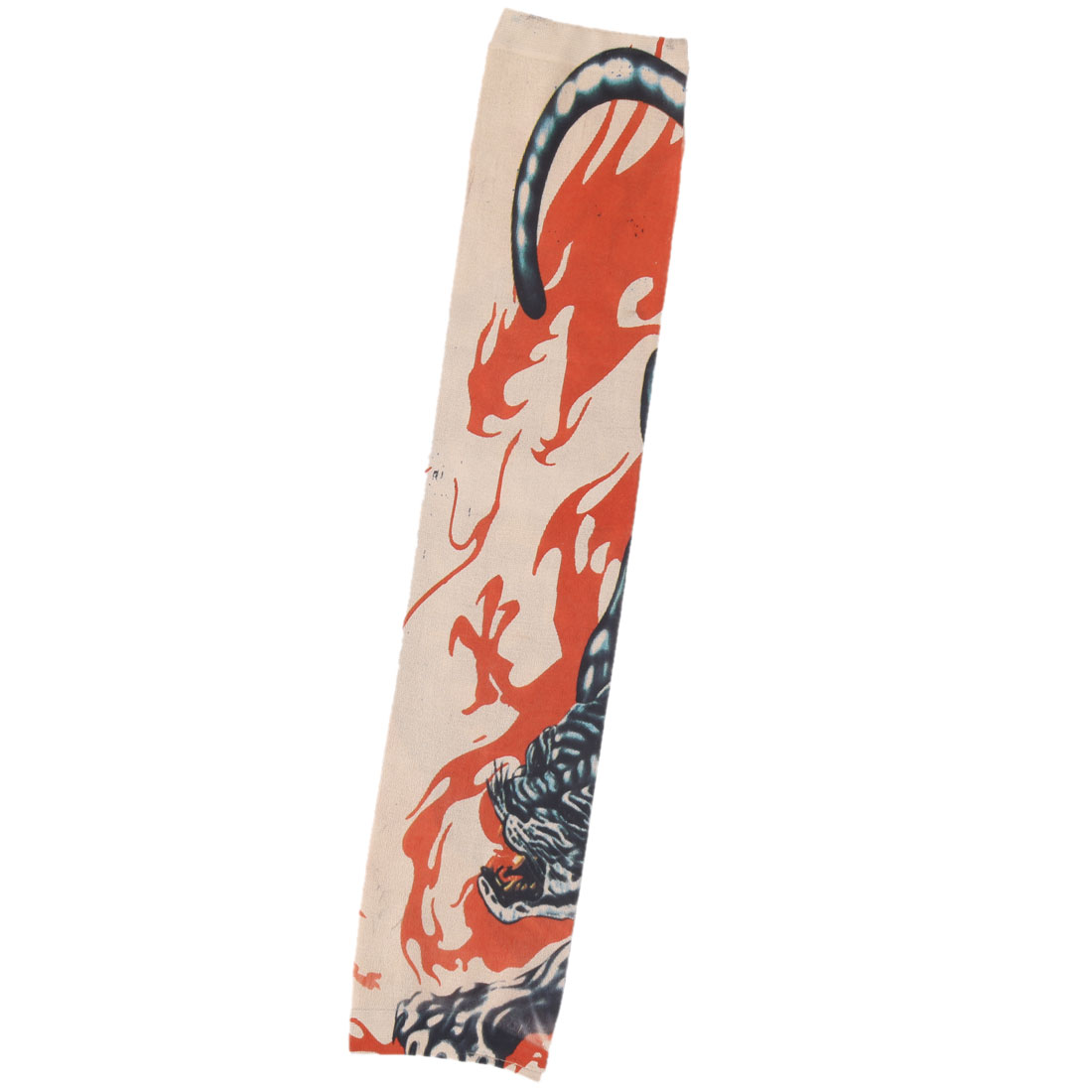 Outdoor Nylon Girl Print Stretchy Hiking Cleaning Arm Cover Sleeve Oversleeve