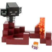 Minecraft Wither vs Alex (in Enchanted Armor) Battle In a Box