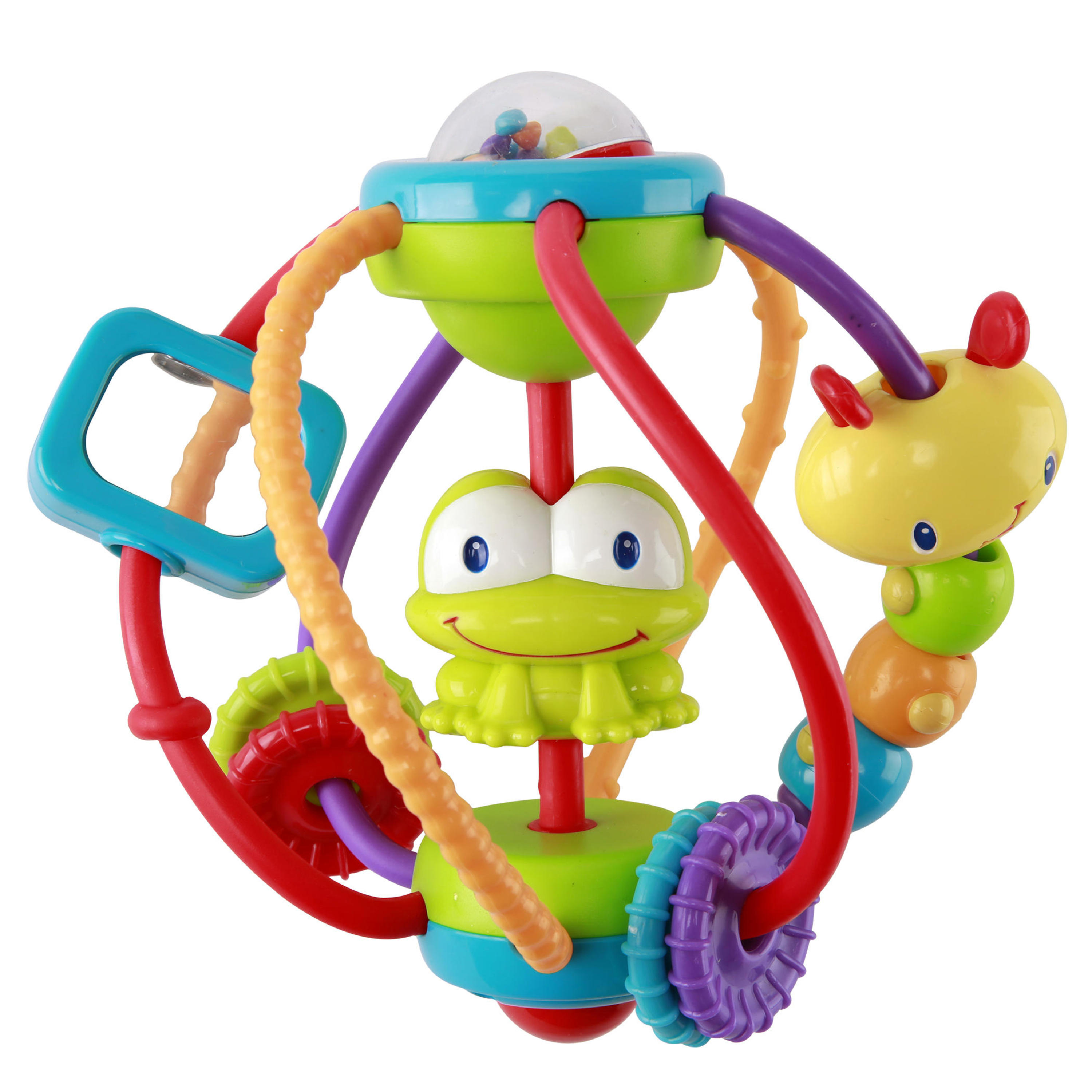 Bright Starts Clack & Slide Activity Ball Toy by Bright Starts