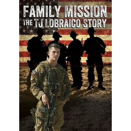 Family Mission: The T.J. Lobraico Story (DVD) (Family Friendly Halloween Stories)