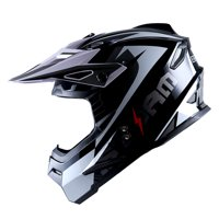 1Storm Youth Motocross Helmet BMX MX ATV Dirt Bike Helmet Teenager Racing Style; Sonic White
