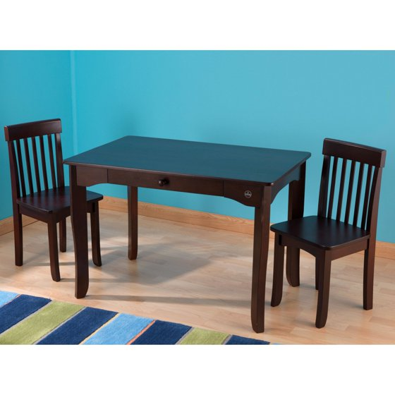 Kids Table And Chairs Set Espresso: KidKraft Avalon Table And 2 Chair Set