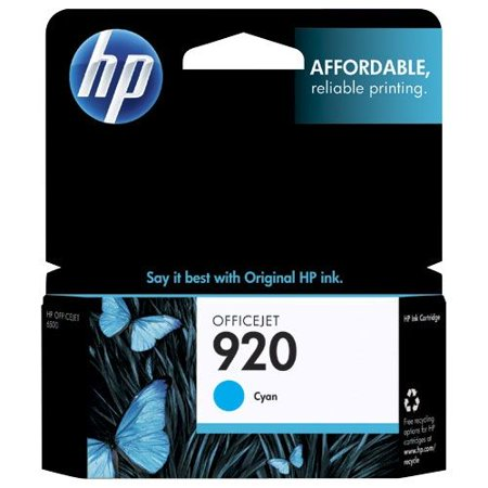 HP 920 Ink Cartridge - Cyan - image 1 of 1