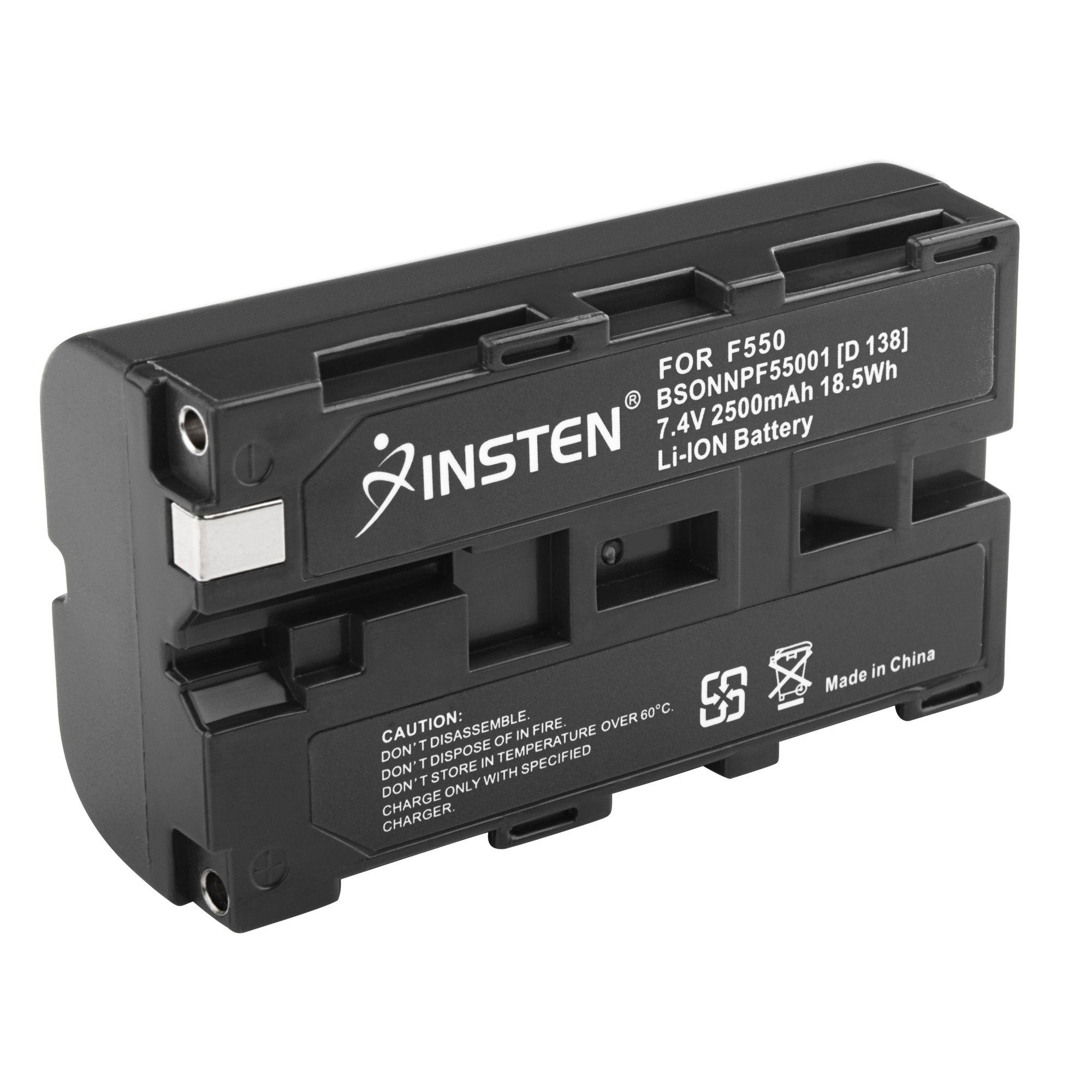 Insten NP-F550 NP-F330 NP-F570 F750 F930 F950 NP-F530 Battery For SONY Mavica Camera