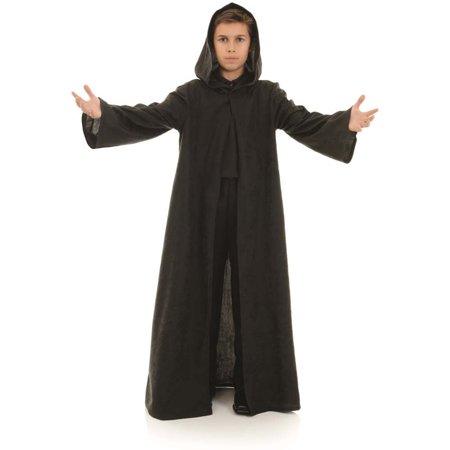 Black Cloak Child Wizard Vampire Halloween Costume Accessory