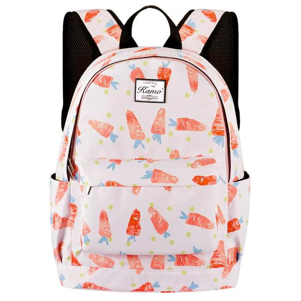 Skull with Flower Bird Butterfly Backpack Fashion Laptop Daypack Travel Backpack for Women Men Girl Boy Schoolbag College School Bag