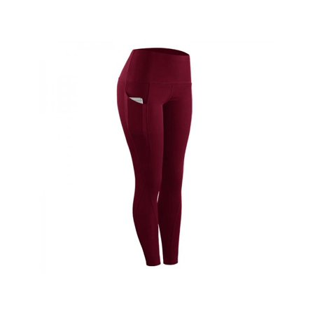 Topumt Women Gym Fitness Compression Tights Pants Running Yoga Sports Long Trousers